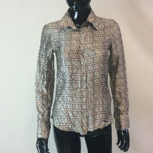 Silk Burberry blouse